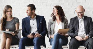 54621261 – human resources interview recruitment job concept